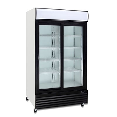 """COMMERCIAL VERTICAL SLIDING DOOR COOLING SHOWCASE/ """""""" QUIPWELL  AUSTRALIANA""""""""FRIDGE – LG1400SDS """" FIVE YEARS WARRANTY"""""""